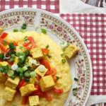 Mămăliguţă cu tofu