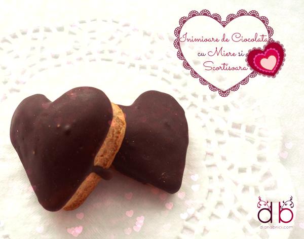 inimioare cu ciocolata