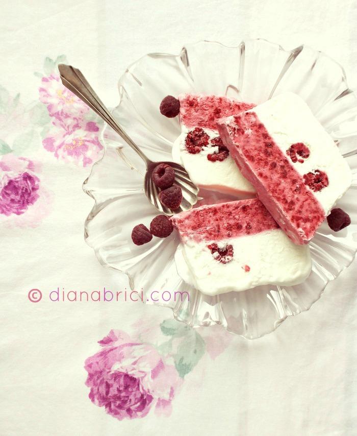 desert cu zmeura