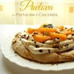 Pavlova cu Portocale și Ciocolată