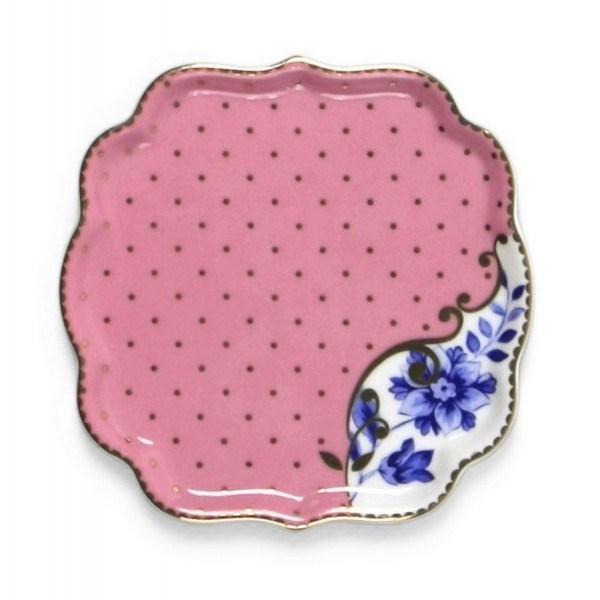Farfurie ceai roz - Royal Pip Studio