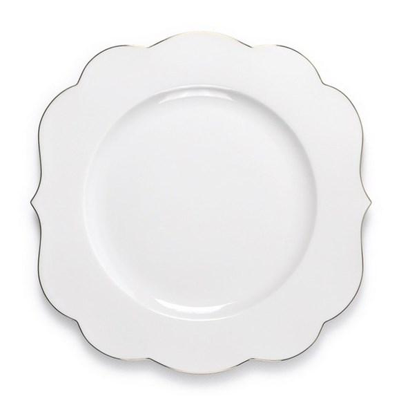 Farfurie plată albă - Royal 28 cm Pip Studio