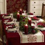Cele mai frumoase idei decorative şi decoraţiuni pentru masa de Crăciun