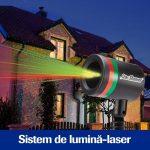 Star Shower Motion – un sistem revoluţionar de proiecţie lumini laser de Crăciun pentru casa ta